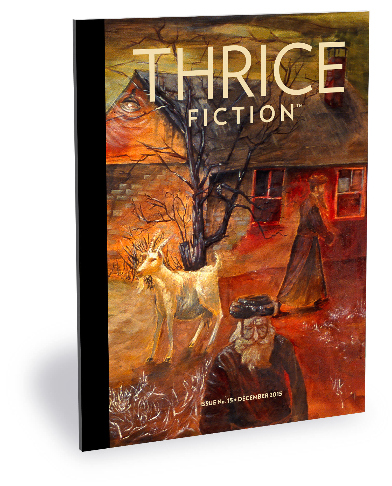 Thrice Fiction Magazine No 15